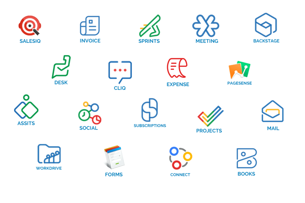 zoho products